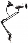 Держатель Rock Adjustable Microphone Stand для микрофона и смартфона (Black)