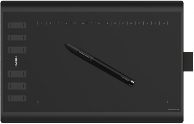 Графический планшет Huion New 1060PLUS (Black)