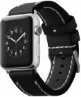 Сменный ремешок Cozistyle Leather Band CLB010 для Apple Watch 42mm (Black)