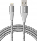 Кабель для iPod, iPhone, iPad Anker PowerLine+ II (A8453H41) Lightning 1.8 m (Silver)