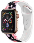 Ремешок COTEetCI W38 Flowers (WH5265-BK) для Apple Watch Series 4 40mm (Black)