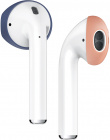 Держатель Elago Secure Fit (EAP-PADSM-JINPE) для наушников Apple AirPods (Jean Indigo/Peach)