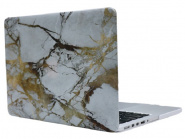 "Чехол-накладка i-Blason Ultra Slim Cover для MacBook Pro 13"" 2016 (White/Gold Marble)"