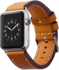 Сменный ремешок Cozistyle Leather Band (CLB018) для Apple Watch 42mm (Light Tan)