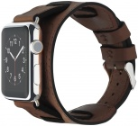 Cozistyle Wide Leather Band (CWLB12) - сменный ремешок для Apple Watch 42mm (Brown)