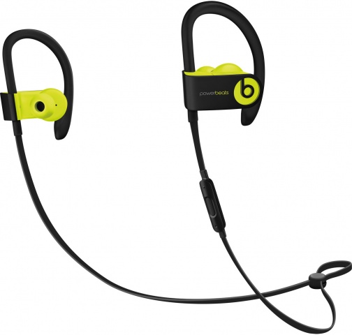 Bluetooth-наушники с микрофоном Beats Powerbeats3 Wireless (Shock Yellow)