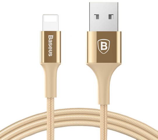Кабель Baseus Shining Cable (CALSY-OV) USB to Lightning (Gold)