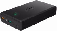 Внешний аккумулятор Aukey Power Bank Aukey PB-T11 30000mAh - (Black)