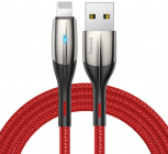 Кабель для iPod, iPhone, iPad Baseus Horizontal (CALSP-B09) USB/Lightning 1m (Red)