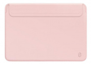Чехол Wiwu Skin Pro 2 Leather для MacBook 12 (Pink)